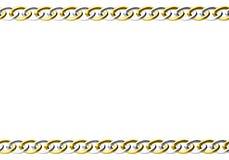 πλαίσιο αλυσίδων Στοκ Εικόνες