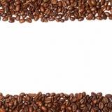 Πλαίσιο από τα φασόλια καφέ Στοκ Εικόνες