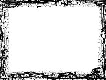 Πλαίσιο γραμμών Grunge Στοκ Φωτογραφία