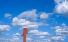 Πλαίσιο δοκών κατασκευής Στοκ φωτογραφία με δικαίωμα ελεύθερης χρήσης