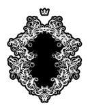 πλαίσιο ΙΙΙ στυλ ροκοκό Στοκ εικόνα με δικαίωμα ελεύθερης χρήσης