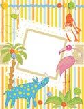 πλαίσιο καρτών μωρών Απεικόνιση αποθεμάτων