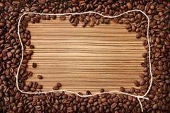 πλαίσιο καφέ Στοκ εικόνα με δικαίωμα ελεύθερης χρήσης