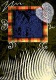 πλαίσιο κολάζ Στοκ εικόνες με δικαίωμα ελεύθερης χρήσης