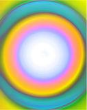 πλαίσιο κύκλων aqua Στοκ Εικόνες