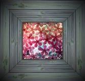 πλαίσιο λουλουδιών πα&gamm απεικόνιση αποθεμάτων