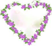 πλαίσιο λουλουδιών Στοκ Εικόνα