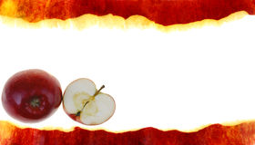 πλαίσιο μήλων Στοκ φωτογραφίες με δικαίωμα ελεύθερης χρήσης
