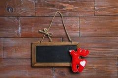 Πλαίσιο με τη διακόσμηση Χριστουγέννων Στοκ φωτογραφίες με δικαίωμα ελεύθερης χρήσης