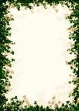 πλαίσιο με φύλλα Στοκ εικόνα με δικαίωμα ελεύθερης χρήσης