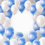 Πλαίσιο μπαλονιών Στοκ φωτογραφίες με δικαίωμα ελεύθερης χρήσης