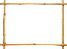 πλαίσιο μπαμπού Στοκ εικόνες με δικαίωμα ελεύθερης χρήσης