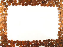 πλαίσιο νομισμάτων Στοκ φωτογραφία με δικαίωμα ελεύθερης χρήσης
