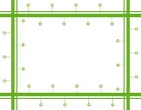 πλαίσιο πράσινο Στοκ εικόνα με δικαίωμα ελεύθερης χρήσης