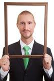 πλαίσιο προσώπου Στοκ εικόνα με δικαίωμα ελεύθερης χρήσης