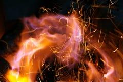 πλαίσιο πυρκαγιάς Στοκ εικόνα με δικαίωμα ελεύθερης χρήσης