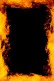 πλαίσιο πυρκαγιάς Στοκ Φωτογραφία