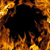 πλαίσιο πυρκαγιάς Στοκ Φωτογραφίες