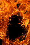 πλαίσιο πυρκαγιάς Στοκ φωτογραφίες με δικαίωμα ελεύθερης χρήσης