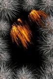 πλαίσιο πυροτεχνημάτων Στοκ εικόνες με δικαίωμα ελεύθερης χρήσης