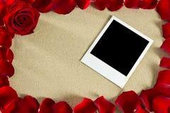 πλαίσιο ρομαντικό Στοκ φωτογραφίες με δικαίωμα ελεύθερης χρήσης