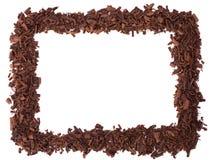πλαίσιο σοκολάτας Στοκ εικόνα με δικαίωμα ελεύθερης χρήσης