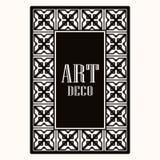 Πλαίσιο συνόρων του Art Deco απεικόνιση αποθεμάτων