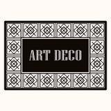 Πλαίσιο συνόρων του Art Deco ελεύθερη απεικόνιση δικαιώματος