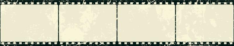 πλαίσιο ταινιών grunge Στοκ εικόνα με δικαίωμα ελεύθερης χρήσης