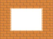 πλαίσιο τούβλου Στοκ εικόνα με δικαίωμα ελεύθερης χρήσης