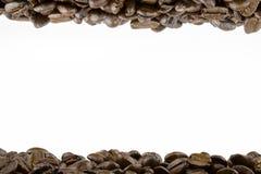 Πλαίσιο των φασολιών καφέ Στοκ φωτογραφία με δικαίωμα ελεύθερης χρήσης