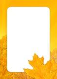 πλαίσιο φθινοπώρου Στοκ εικόνα με δικαίωμα ελεύθερης χρήσης
