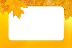 πλαίσιο φθινοπώρου Στοκ φωτογραφίες με δικαίωμα ελεύθερης χρήσης