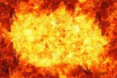πλαίσιο φλογών πυρκαγιά&sigma Στοκ φωτογραφία με δικαίωμα ελεύθερης χρήσης