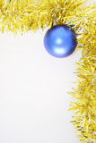 πλαίσιο Χριστουγέννων β&omicro στοκ φωτογραφία με δικαίωμα ελεύθερης χρήσης