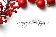 πλαίσιο Χριστουγέννων στοκ φωτογραφίες
