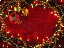 Πλαίσιο Χριστουγέννων Στοκ φωτογραφίες με δικαίωμα ελεύθερης χρήσης
