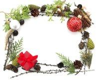 πλαίσιο Χριστουγέννων Στοκ εικόνες με δικαίωμα ελεύθερης χρήσης