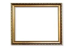 πλαίσιο χρυσό Στοκ εικόνα με δικαίωμα ελεύθερης χρήσης