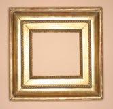 πλαίσιο χρυσό Στοκ Φωτογραφίες