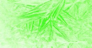 Πλαίσιο snowflakes κρυστάλλου Χριστουγέννων του πραγματικού χιονιού όπως το υπόβαθρο στη βασική πράσινη οθόνη χρώματος, Χριστούγε ελεύθερη απεικόνιση δικαιώματος