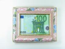 Πλαισιωμένα χρήματα Στοκ φωτογραφία με δικαίωμα ελεύθερης χρήσης