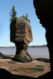 πλαισιωμένος βράχος Στοκ Εικόνες