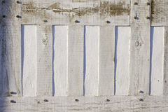 πλαισιωμένος λεπτομέρεια τοίχος ξυλείας στοκ εικόνες