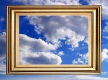 πλαισιωμένος ουρανός Στοκ φωτογραφίες με δικαίωμα ελεύθερης χρήσης