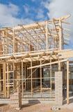 πλαισιώνοντας σπίτι κατασκευής νέο Στοκ φωτογραφίες με δικαίωμα ελεύθερης χρήσης