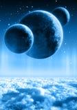 πλανήτες Στοκ εικόνα με δικαίωμα ελεύθερης χρήσης