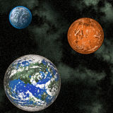 πλανήτες διανυσματική απεικόνιση
