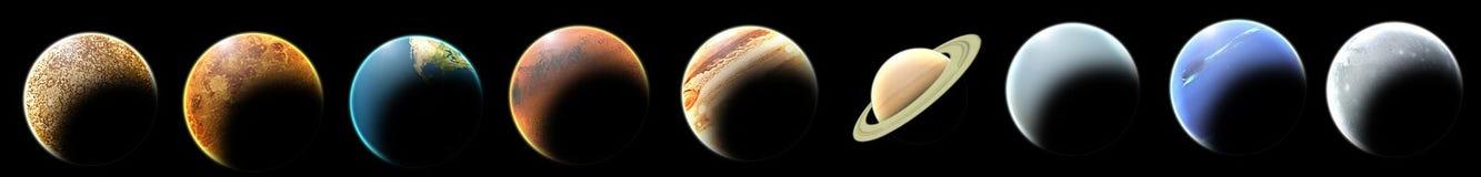 πλανήτες Στοκ Φωτογραφίες