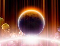πλανήτης λαμπρός Στοκ Εικόνα